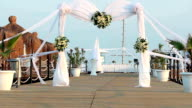 Wedding Ceremony Arch Decoration video