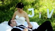 wedding couple video