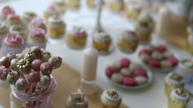 Wedding decoration of sweets video