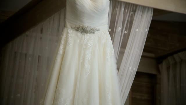 Wedding Dress in Room video
