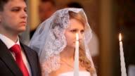 Wedding in church video