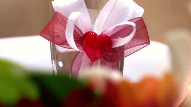 Wedding Reception table video