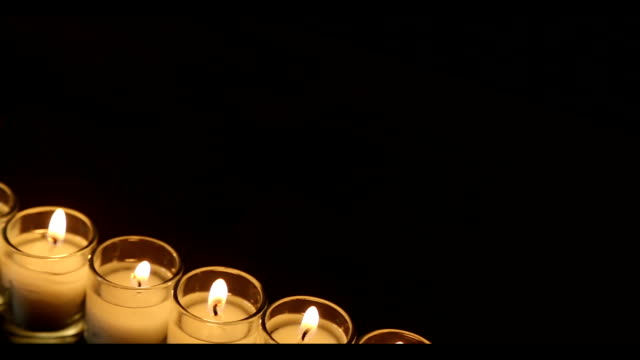 Wedding Rings & Candles video