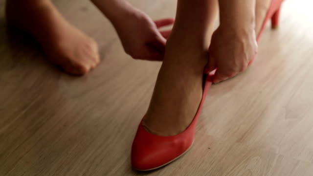 wedding shoes video