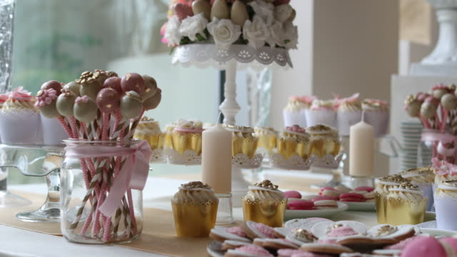 Wedding sweets video