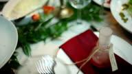 wedding table decoration video