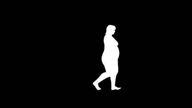 weight gain walk female video