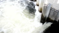 Weir (Falling Water) of Havel River video
