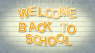 welcome back to school with luma matte video