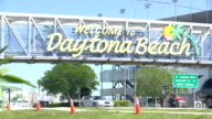 Welcome to Daytona Beach sign video