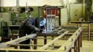 Welder at work video