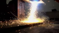Welding and flame video