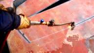 Welding and shipbuilding video