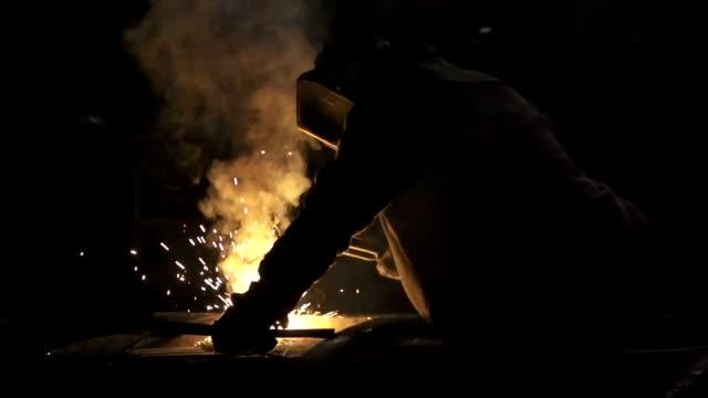 Welding in backlight video