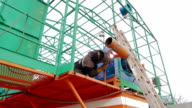 Welding of drilling fluid circulation system video