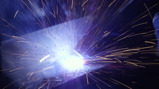 Welding Sparks video