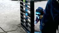 Welding work video
