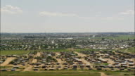 Welkom suburbs - Aerial View - Orange Free State,  Lejweleputswa District Municipality,  Matjhabeng,  South Africa video