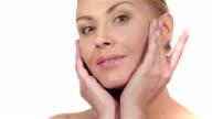 Wellness, skincare and naturally make-up video