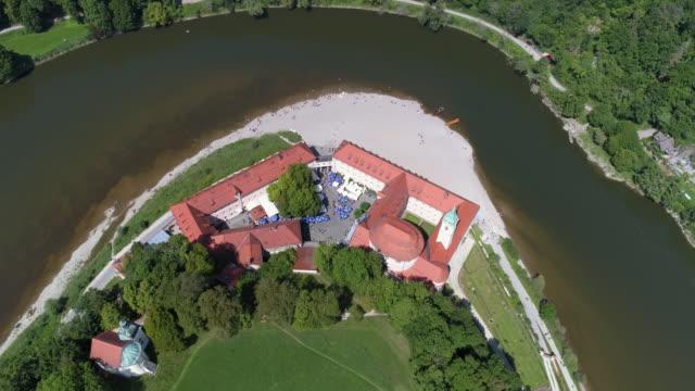 Weltenburg Abbey On The Danube In Bavaria video
