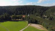 Weltenburg Abbey On The Danube River In Bavaria video