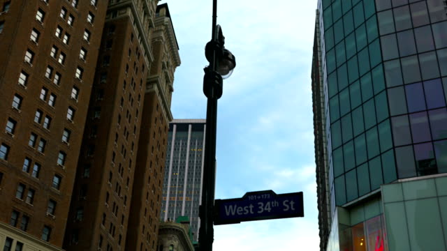 west 34th street sign video