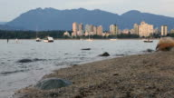 West End Vancouver Evening, English Bay video