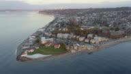 West Seattle Washington Alki Point Light House video