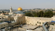 Wester Wall and Dome of the Rock video