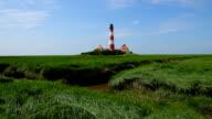 Westerhever Lighthouse video