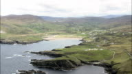 Western Coast Of Donegal  - Aerial View - Ulster, Donegal, Ireland video