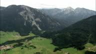 Western Edge Of Berchtesgadener Land  - Aerial View - Bavaria,  Upper Bavaria,  Landkreis Traunstein helicopter filming,  aerial video,  cineflex,  establishing shot,  Germany video