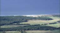Western Pomerania Lagoon Area National Park  - Aerial View - Mecklenburg-Vorpommern,  Germany video