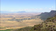 Western Ridge Of Swartland  - Aerial View - Western Cape,  West Coast District Municipality,  Bergrivier,  South Africa video