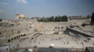 Western Wall and Dome of the Rock Timelapse video