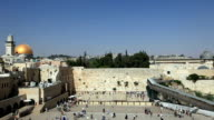 Western Wall and Dome of the Rock video