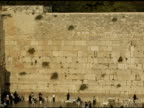 Western Wall in Jerusalem video