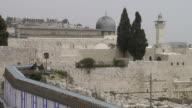 Western Wall pan from Al-Aqsa video