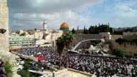 Western Wall Plaza Wide video