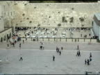 Western Wall Prayers in Jerusalem video