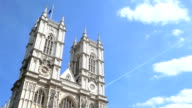 Westminster Abbey, London, UK - time lapse video