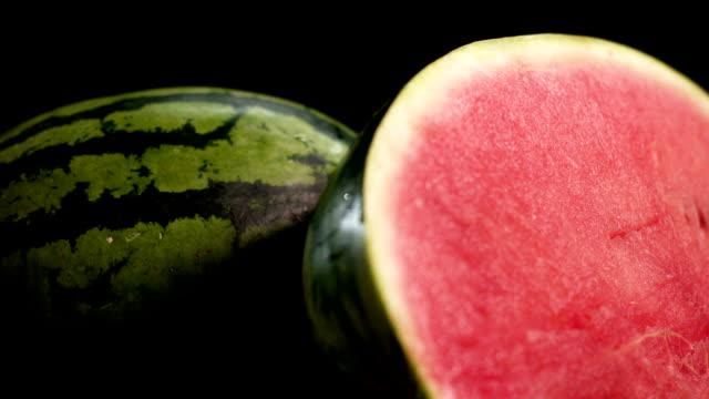 Wet Half-Sliced watermelon video