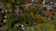 wethersfield - Aerial View - Connecticut,  Windham County,  United States video