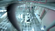 what happening inside the dishwasher video