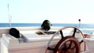 Wheel boat video