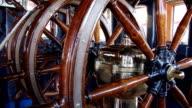 wheelhouse old sailing ship video