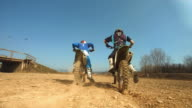 HD SLOW MOTION: Wheelie Motocross Accident video