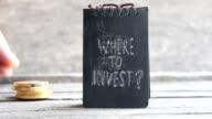 Where To Invest. Investor idea. video