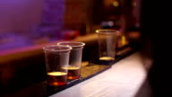 whiskey with coke at bar video