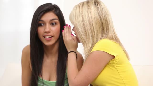 Whispering a secret video